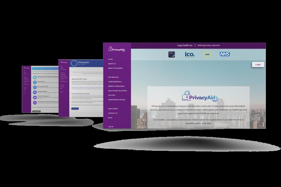 PrivacyAid-Website-design